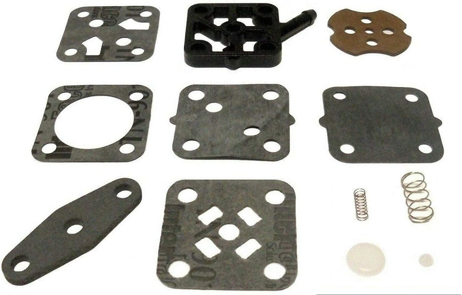 emp Johnson Evinrude 2.5 4 4.5 5 6 6.5 7.5 8 9.9 15 Hp 1982-1992 Fuel Pump Kit Made in USA Replaces 18-7823 393088