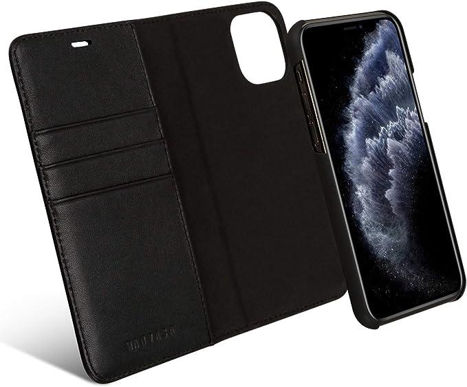 Kanvasa Iphone 11 Leather Flip Case 2 In 1 Genuine Elektronik