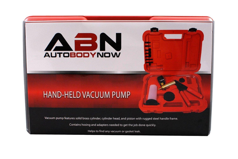 ABN Hand Held Brake Bleeder 15pc Kit BMC Universal Vacuum Pump & Brake Bleeding Tester Set Auto Service & Food Canning by ABN (Image #9)