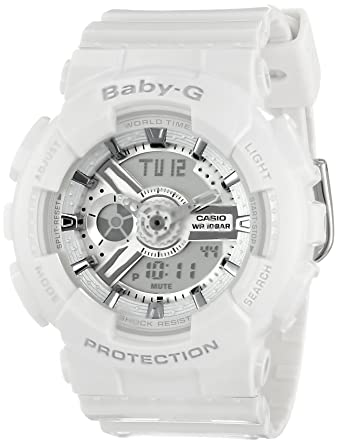 Amazon.com  Casio Women s BA-110-7A3CR Baby-G Analog Display Quartz ... 3b7905228ad2