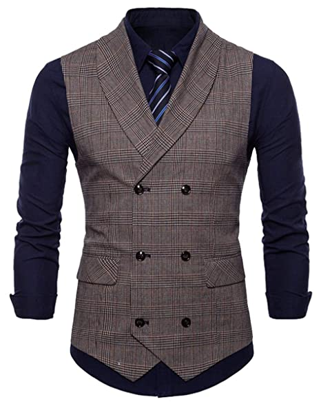 Amazon.com: QZH.DUAO - Chaleco para hombre: Clothing