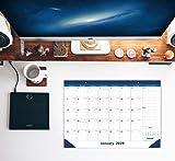 Nekmit 2020 Monthly Desk/Wall Calendar, Ruled