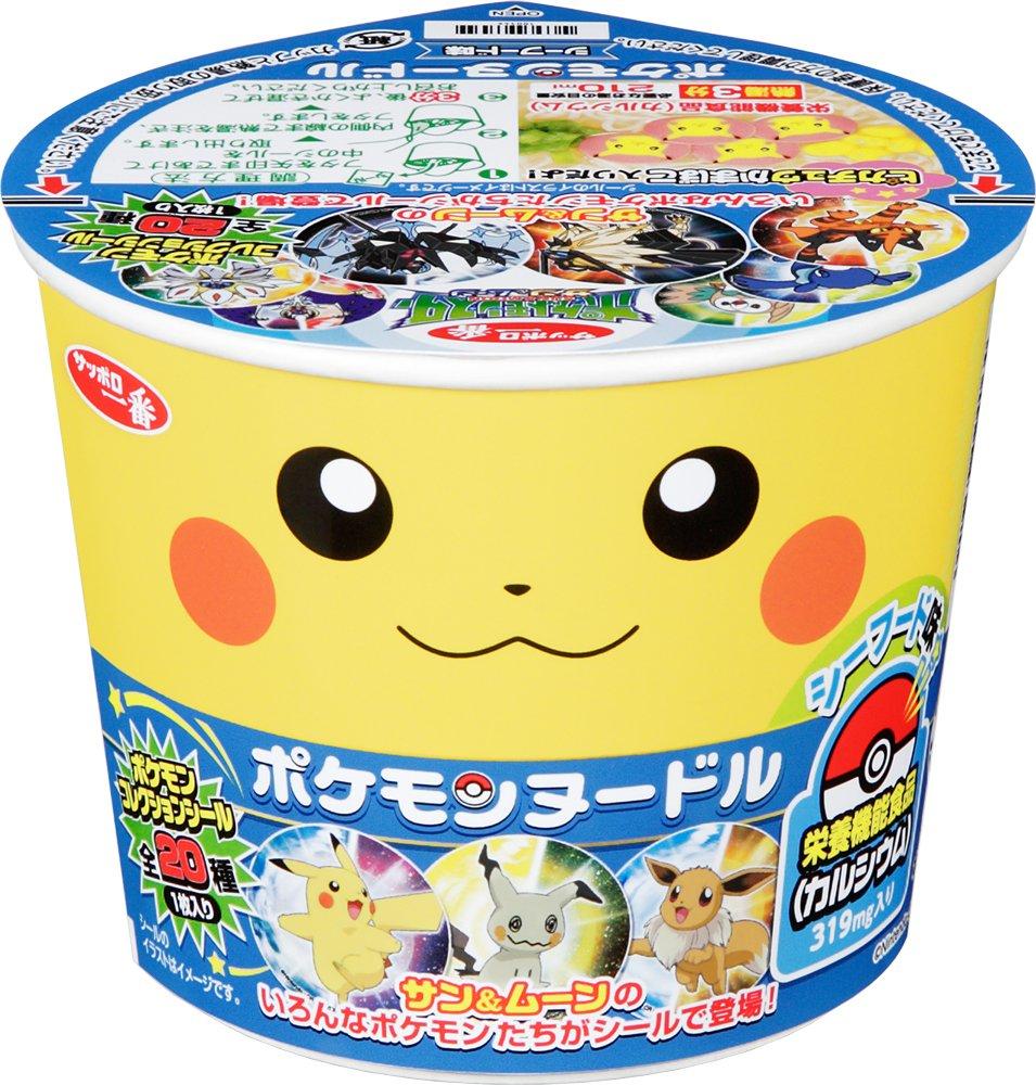 Sapporo most Pokemon noodle seafood taste 37gX12 pieces