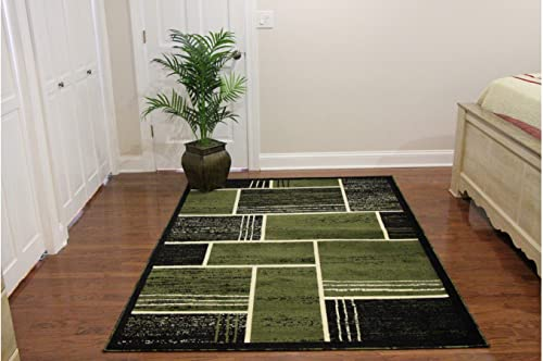 Printed Rectangles and Squares Fashionable Area Rug