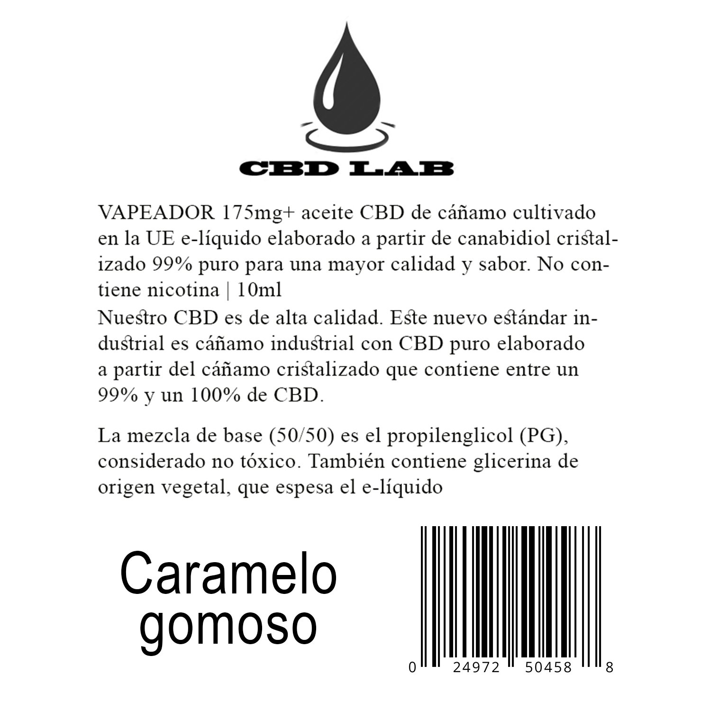 VAPEADOR 175mg+ aceite CBD de cáñamo cultivado en la UE e ...