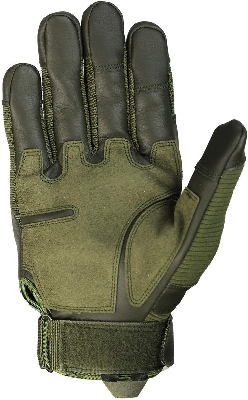 Herren-Vollfinger-Outdoor-Sport-Arbeitshandschuhe KO-GT6 Combat Gloves Die multifunktionalen Super Combat Gloves Jagd-Motorrad-Fahrrad-Radfahren-Klettern-Langlauf-Handschuhe