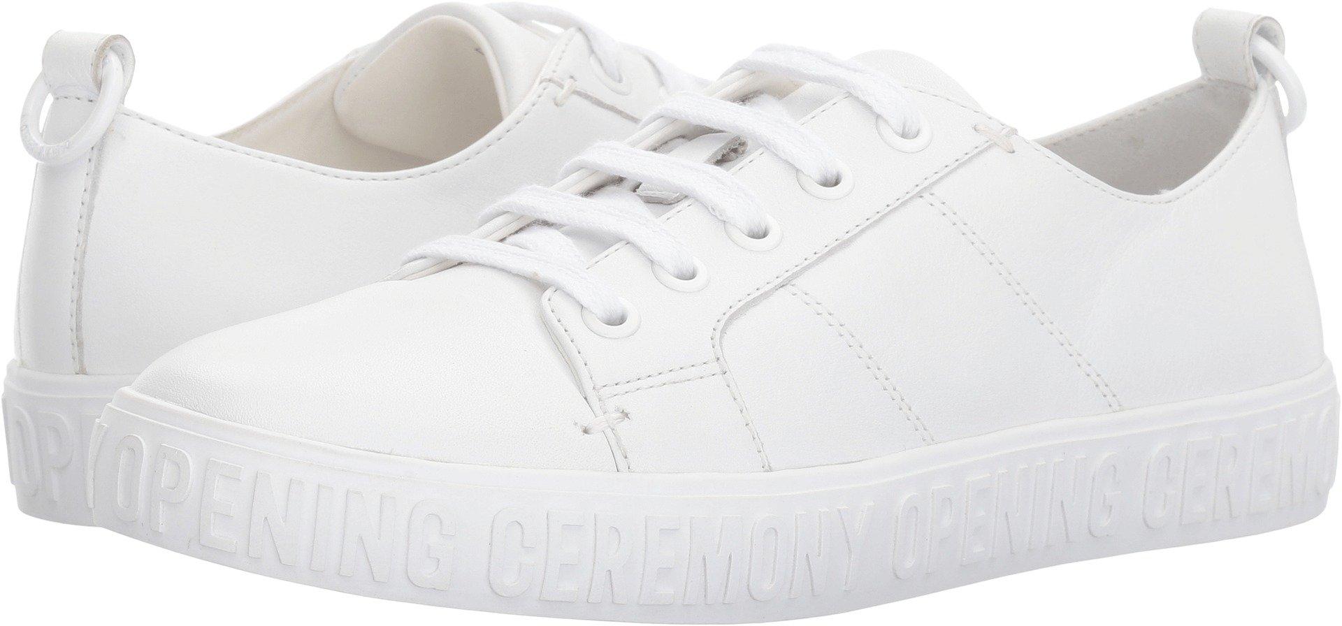 Opening Ceremony Women's La Cienega Low Top Sneaker White Oxford