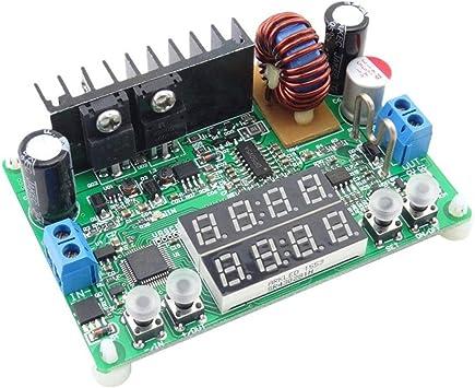 Rd Dp30v5a L Konstantspannungsstrom Abwärts Programmierbares Netzteilmodul Abwärtsspannungswandler Regler Led Anzeige Baumarkt