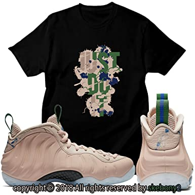 6b39b2fe1f0 Custom T Shirt Matching AIR Foamposite 1 Particle Beige FOAM-1-13-5 ...