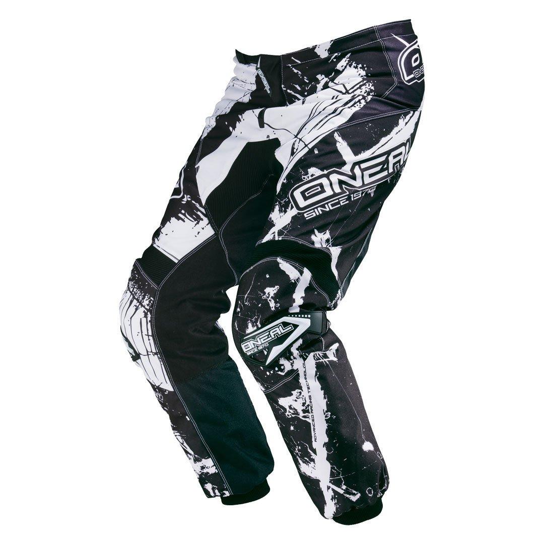 Oneal Element MX DH MTB Pant Hose lang Shocker schwarz//wei/ß 2016 28 44 Gr/ö/ße