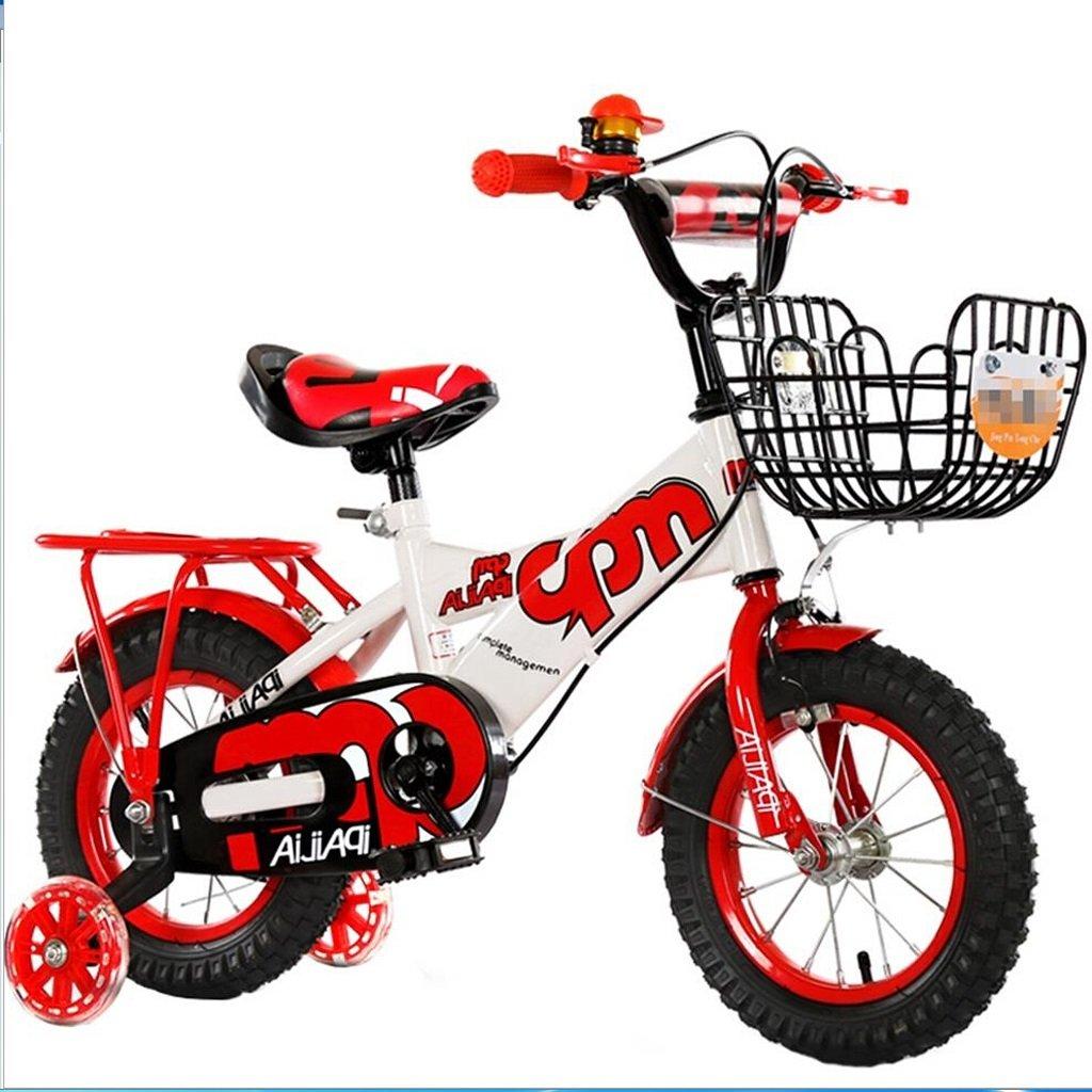Li jing home Kinderfahrräder Geeignet 2-3-6-8 Jungen und Mädchen Kid Spielzeug Outdoor Mountainbike Lenker Sattel Höhe kann einstellbar mit Blau 12 inch
