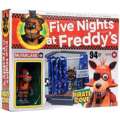 McFarlane Five Nights at Freddys Pirate Cove Construction Set: Toys & Games