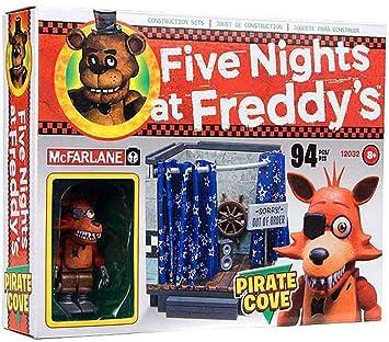 Cinco noches en Freddys pirata Cove McFarlane Set de construcción: Amazon.es: Juguetes y juegos