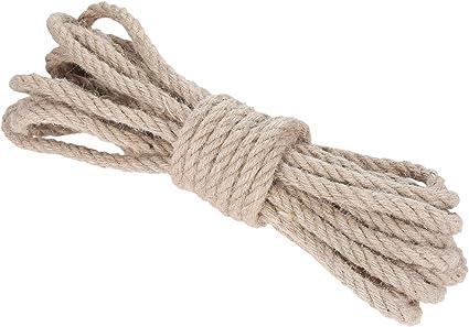 Cqinju-Natural Yute Cordel Cuerda Natural de la Cuerda Rollos ...
