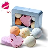 Amazon Price History for:QQCute Bath Bomb Gift Set, All Natural Essential Oil Lush Spa Fizzies for Dry Skin,Best Gift for Women, Teen Girls, Birthdays, Add to Bath Bubbles, Basket, Bath Beads, Bath Pearls