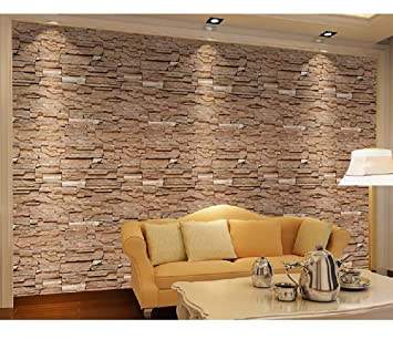 Buy Univocean 3d Modern Brick Design Wall Poster Wallpaper Wall Sticker For Living Room Bedroom Office And Other Home Decoration 200 X 45 Cm Online At Low Prices In India Amazon In