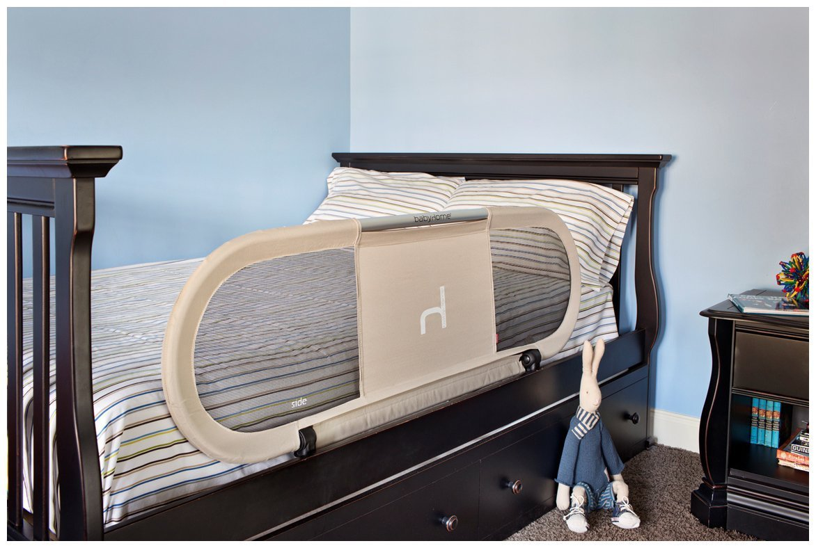 amazoncom  baby home side bed rail sand  nursery bed rails  baby -