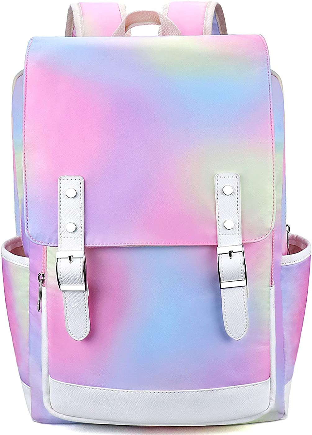 Laptop Backpack for Girls Women, College School Bookbags for Teenagers