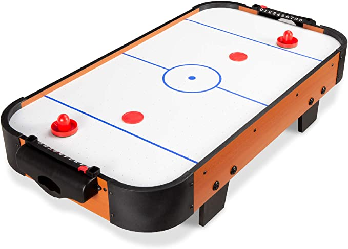 Elect Sport Squad HX40 40 inch Table Top Air Hockey Table for Kids and Adults