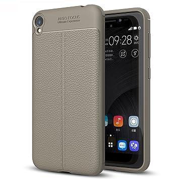TTVie ASUS ZenFone Live ZB501KL Funda, Carcasa Caso Cubierta de Protección de Litchi Textura TPU Silicona para ASUS ZenFone Live ZB501KL 5.0