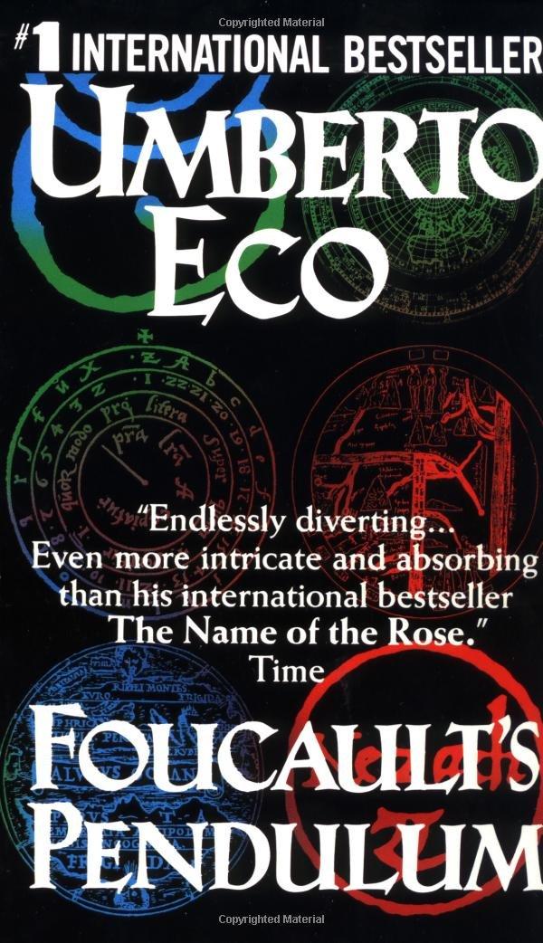 Read Foucaults Pendulum By Umberto Eco