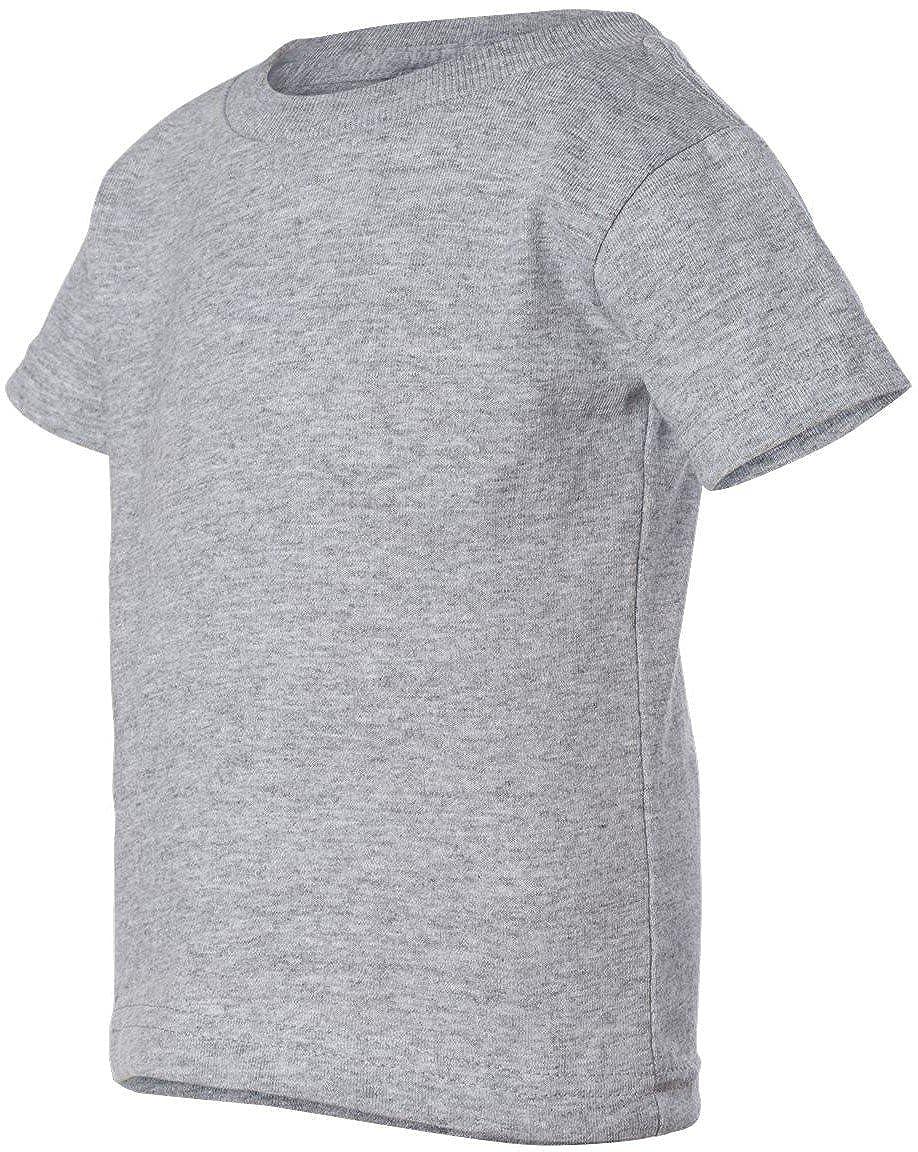 110ea92d9 Amazon.com: Rabbit Skins Infant 5.5 oz. Short-Sleeve T-Shirt: Clothing