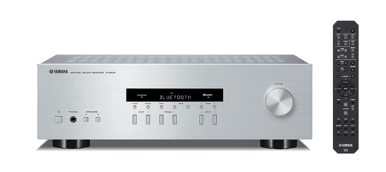 Yamaha R-S202D 125W Plata - Receptor AV (Terminales de Abrazadera, CD Player, Dab, Dab+, FM, Alámbrico, 10-100000 Hz, A/B / A+B): Amazon.es: Electrónica