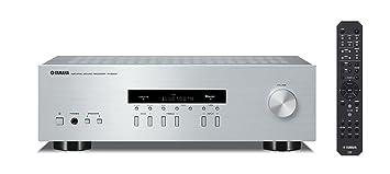 Yamaha R-S202D 125W Plata - Receptor AV (Terminales de Abrazadera, CD Player