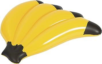 Bestway 43160 - Colchoneta Hinchable Plátano 139x129 cm