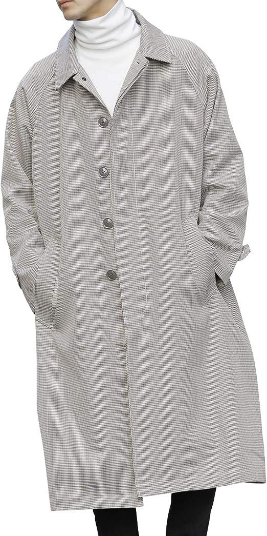 (アドミックス アトリエサブメン) ADMIX ATELIER SAB MEN メンズ コート コットンツイル / オーバーサイズ ロング丈 ステンカラーコート スプリングコート 02-72-6690