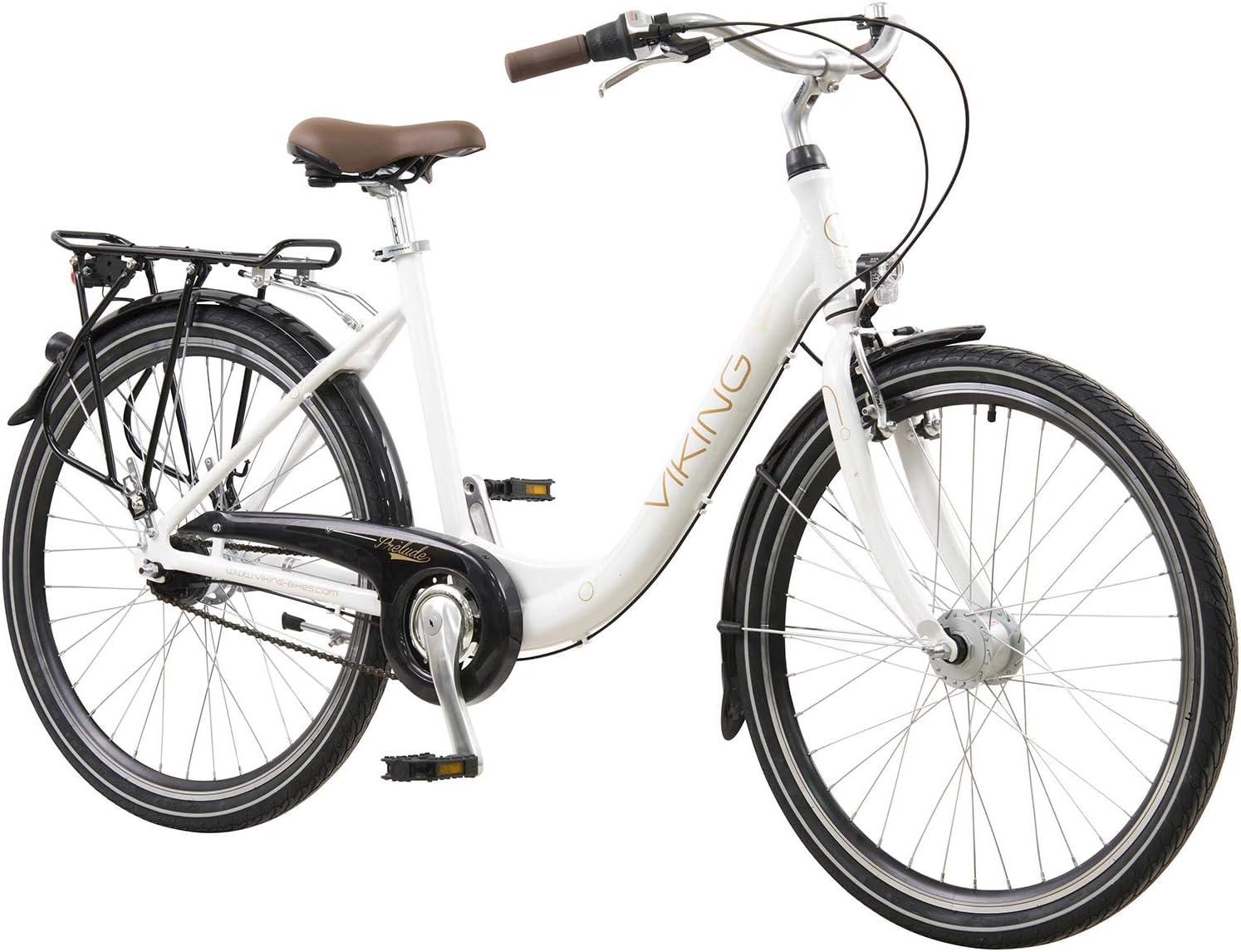 Viking 26 Zoll Prelude Citybike Stadt Fahrrad Licht 7 Gang Nexus