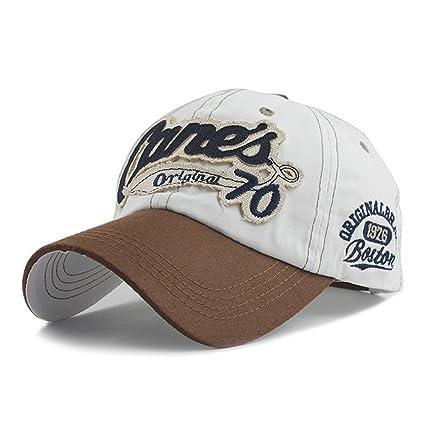 Amazon.com: 2018 snapback cap demin baseball cap Fashion Sports cotton casquette bone gorras Casual hat for men women cap (White Color): Everything Else