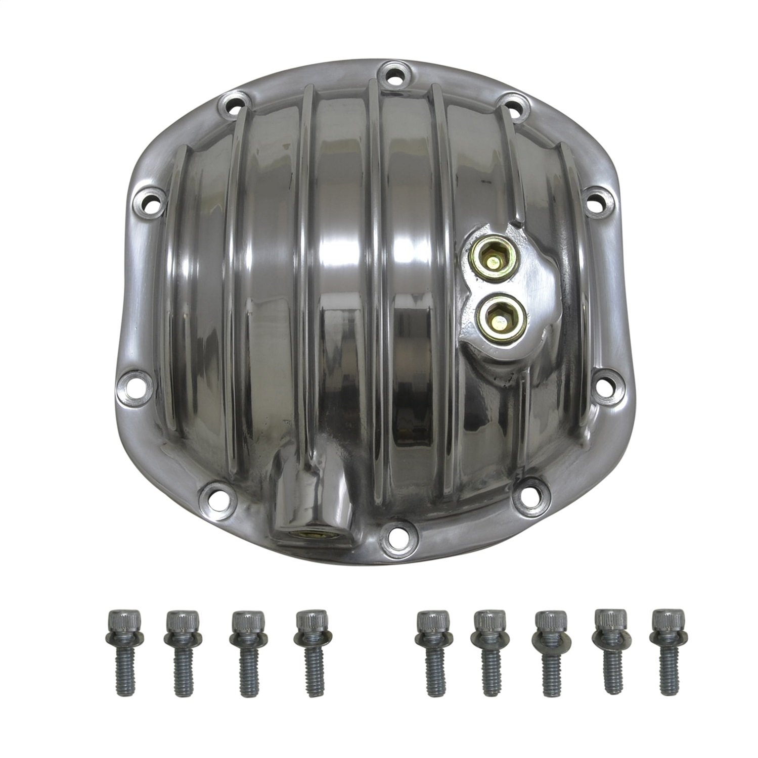 Yukon Gear & Axle (YP C2-D30-STD) Polished Aluminum Replacement Cover for Dana 30 Standard Rotation Differential