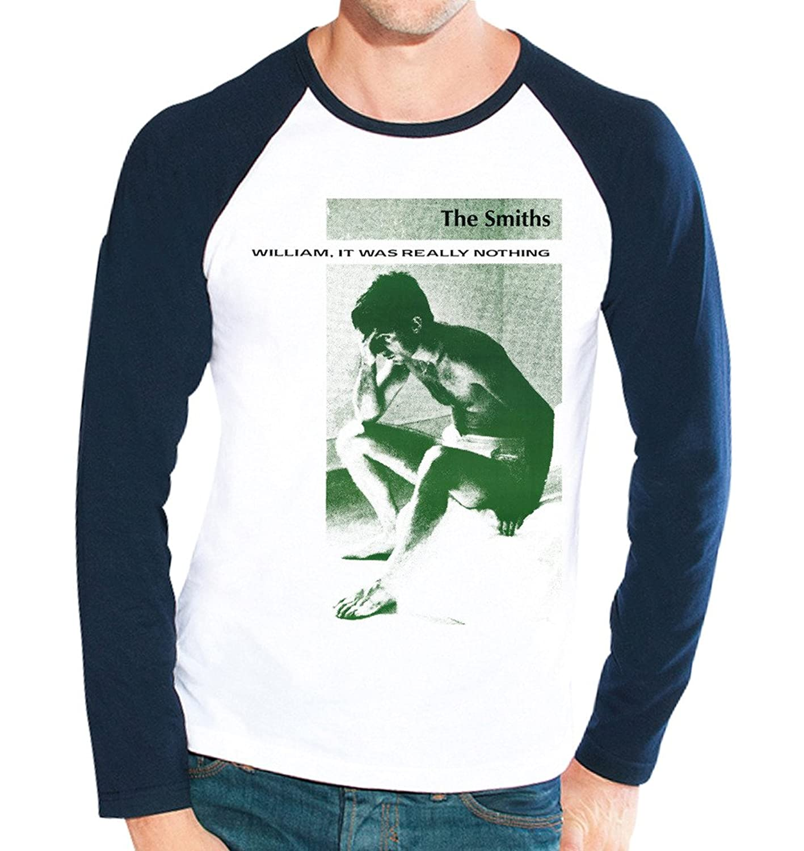 The Smiths William Men's Fashion Quality Heavyweight Baseball Shirt.