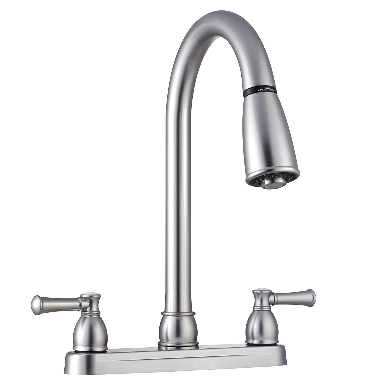 Amazon.com: Dura Faucet (DF-PK350L-SN Non-Metallic Dual Lever Pull ...