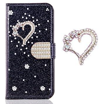 Bling Diamant Funkeln Card Slots f/ür Samsung A40,Glitzer Pocket BookStyle Slim Ledertasche Schutzh/ülle Flip Folio Wallet Stand Kartenfach Magnetverschluss Leder Etui H/ülle Case