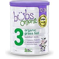 Bubs Bubs Organic Grass Fed Toddler Milk 800g, 800 g