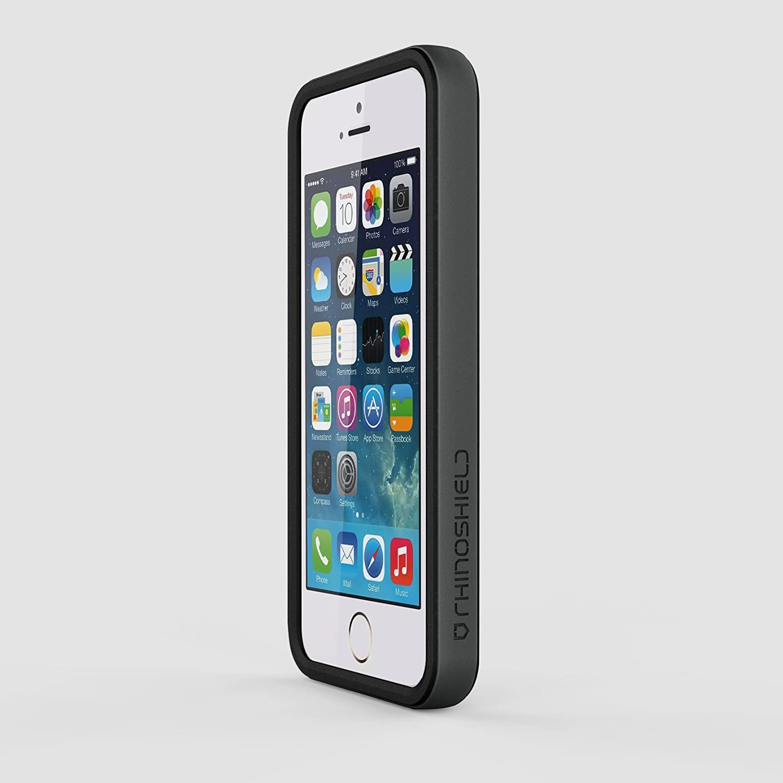 Coque bumper noir Rhino Shield Crash Guard pour Iphone 5/5S