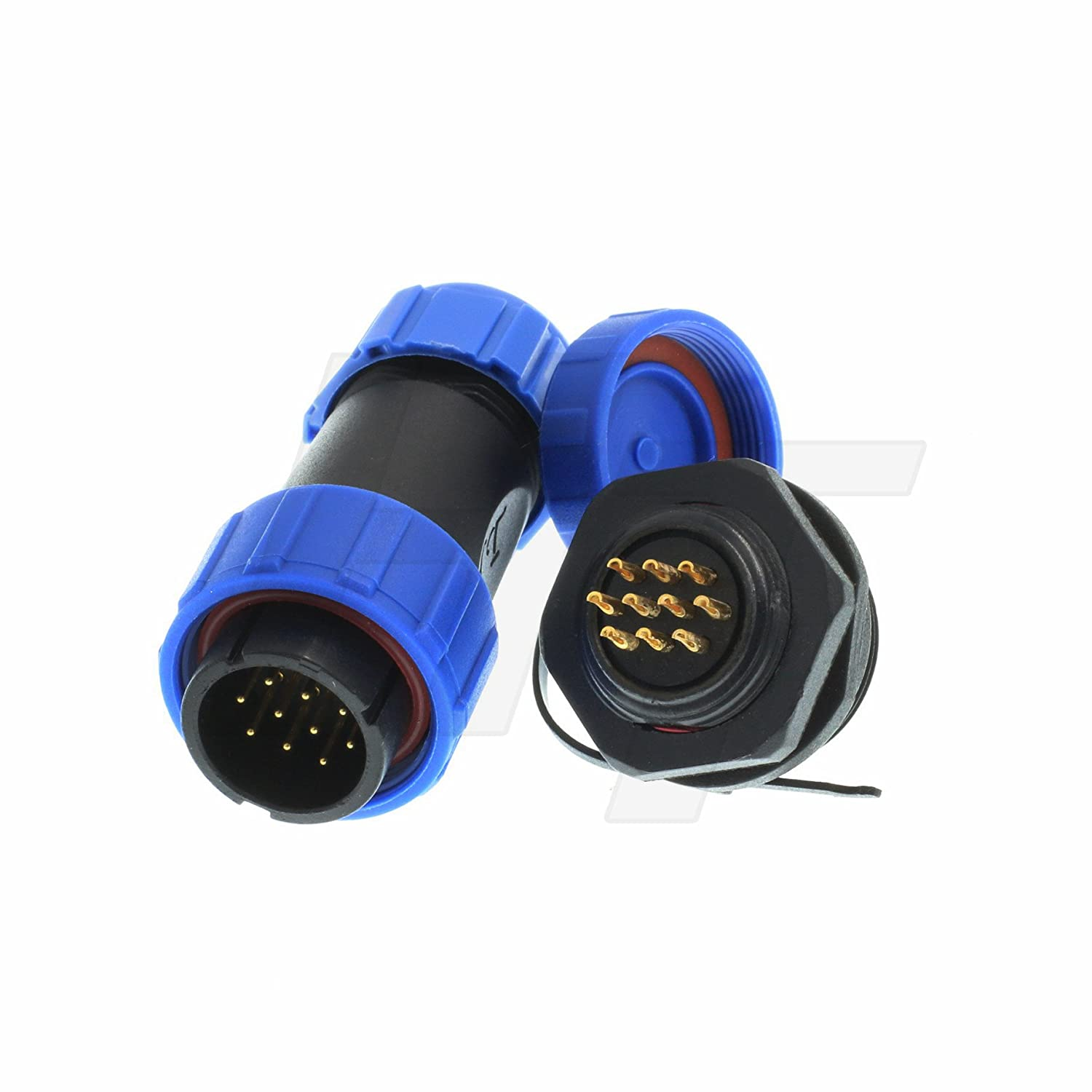 CN1021A24G43P7Y040 CN1021 Series Wall Mount Receptacle Circular Connector CN1021A24G43P7Y040 43 Contacts