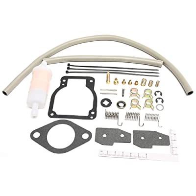 Unepart 18-7750-1 Carburetor Kit For Sierra Mercury Mariner Outboard Motor Replaces 1395-8236354: Automotive