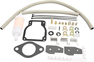 Unepart 18-7750-1 Carburetor Kit For Sierra Mercury Mariner Outboard Motor Replaces 1395-8236354