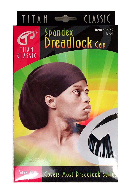Titan Spandex Dreadlock Cap Open Back