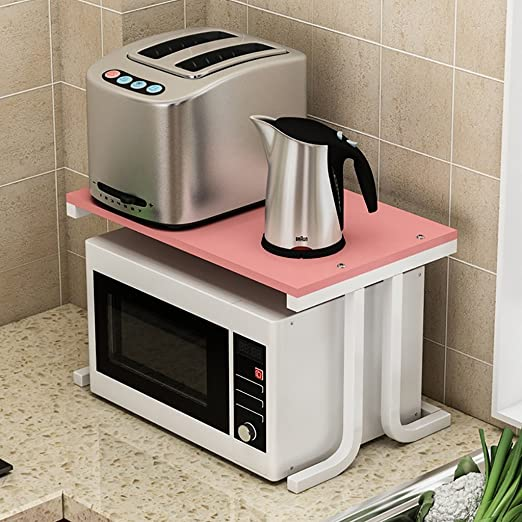 Shelf LYG Estantería de Cocina para microondas, Estante de ...