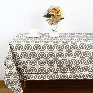 Moderne Tischdecke bluelss mode moderne tischdecke geometrischen drucken