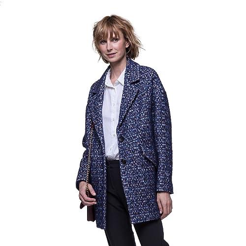 Trench and Coat - Abrigo - para mujer azul 36