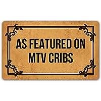 DoubleJun Funny Doormat As Featured On MTV Cribs Entrance Mat Floor Rug Indoor/Outdoor/Front Door Mats Home Decor…
