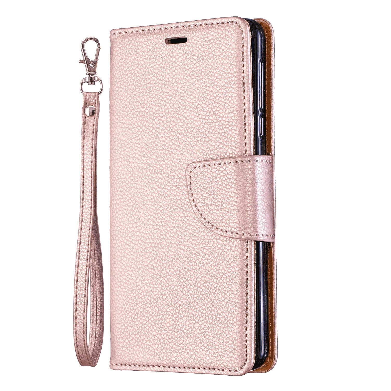 Cover for Samsung Galaxy S9 Leather Card Holders Kickstand Premium Business Mobile Phone casewith Free Waterproof-Bag Samsung Galaxy S9 Flip Case