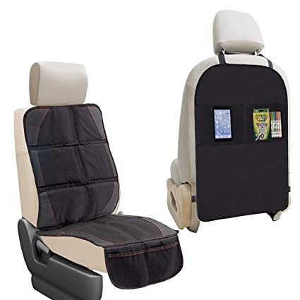 Brilliant Amazon Com Car Seat Protector Kick Mat Auto Seat Back Cjindustries Chair Design For Home Cjindustriesco