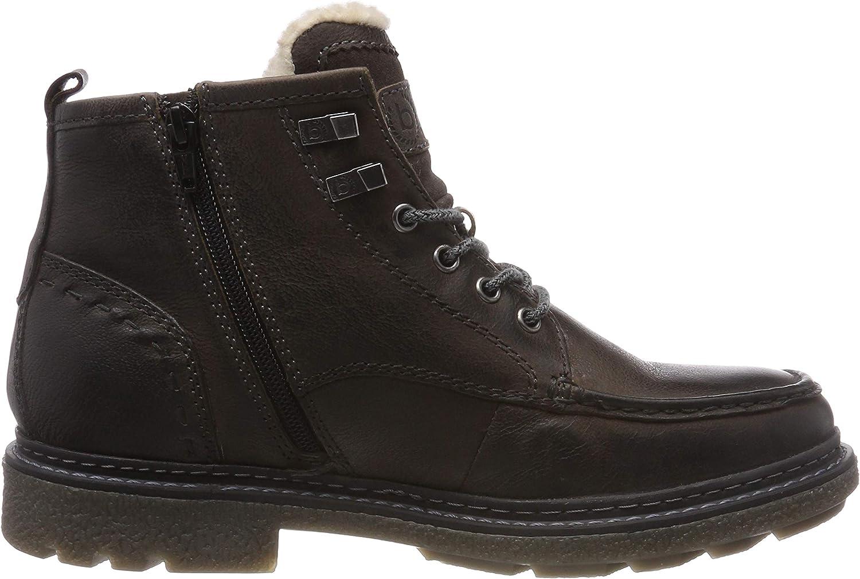 bugatti Men's 3.21618e+11 Classic Boots Grey Dark Grey 1100