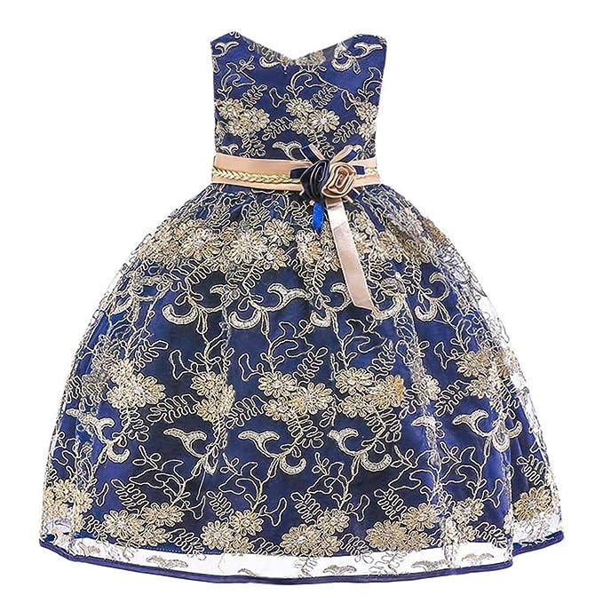 Amlaiworld Vestidos de Fiesta niña Vestido de Dama de Honor ...